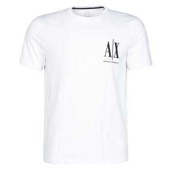Îmbracaminte Bărbați Tricouri mânecă scurtă Armani Exchange 8NZTPH-ZJH4Z Alb