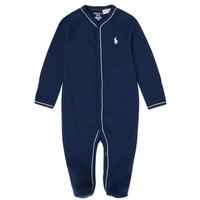 Îmbracaminte Fete Pijamale și Cămăsi de noapte Polo Ralph Lauren LOLLA Albastru