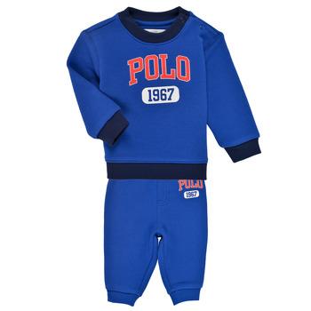 Îmbracaminte Băieți Compleuri copii  Polo Ralph Lauren NOELLE Albastru