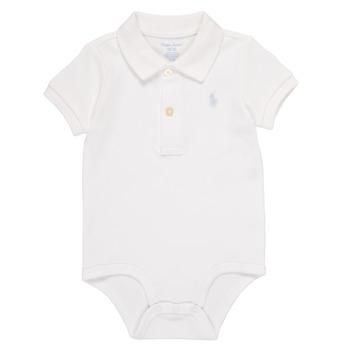 Îmbracaminte Băieți Pijamale și Cămăsi de noapte Polo Ralph Lauren NOUVEL Alb