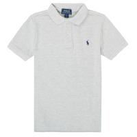 Îmbracaminte Băieți Tricou Polo mânecă scurtă Polo Ralph Lauren TUSSA Gri