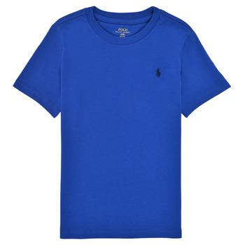 Îmbracaminte Băieți Tricouri mânecă scurtă Polo Ralph Lauren ELIVA Albastru / Safir