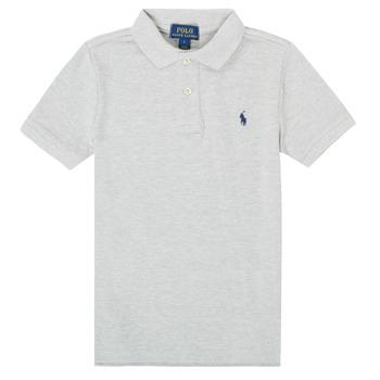 Îmbracaminte Băieți Tricou Polo mânecă scurtă Polo Ralph Lauren MENCHI Gri