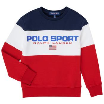 Îmbracaminte Băieți Hanorace  Polo Ralph Lauren TRINITA Multicolor