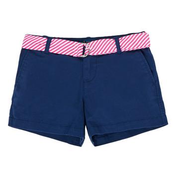 Îmbracaminte Fete Pantaloni scurti și Bermuda Polo Ralph Lauren FILLI Albastru