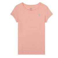 Îmbracaminte Fete Tricouri mânecă scurtă Polo Ralph Lauren SIDONIE Roz