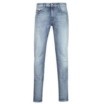 Îmbracaminte Bărbați Jeans slim Diesel D-STRUKT Albastru / LuminoasĂ