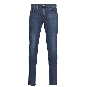 Îmbracaminte Bărbați Jeans slim Diesel D-STRUKT Albastru / Culoare închisă