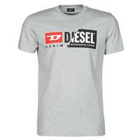 Îmbracaminte Bărbați Tricouri mânecă scurtă Diesel 00SDP1-0091A-912 Gri