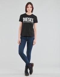 Îmbracaminte Femei Jeans skinny Diesel SLANDY-LOW Albastru / Medium