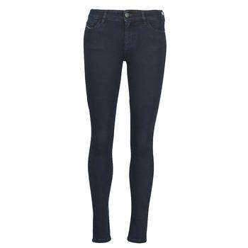 Îmbracaminte Femei Jeans skinny Diesel SLANDY Albastru / Culoare închisă