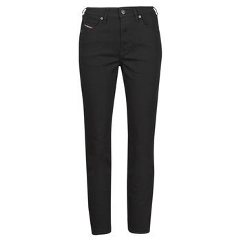 Îmbracaminte Femei Jeans drepti Diesel D-JOY Negru