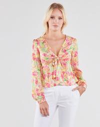 Îmbracaminte Femei Topuri și Bluze Guess NEW LS GWEN TOP Multicolor