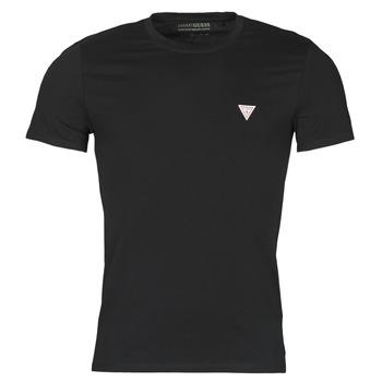 Îmbracaminte Bărbați Tricouri mânecă scurtă Guess CN SS CORE TEE Negru