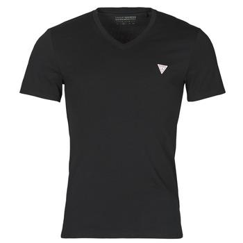 Îmbracaminte Bărbați Tricouri mânecă scurtă Guess VN SS CORE TEE Negru