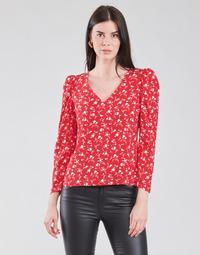 Îmbracaminte Femei Topuri și Bluze Naf Naf COLINE C1 Roșu