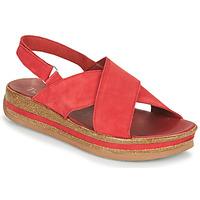 Pantofi Femei Sandale  Think ZEGA Roșu