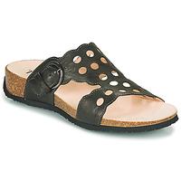 Pantofi Femei Papuci de vară Think MIZZI Negru