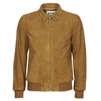 Îmbracaminte Bărbați Jachete din piele și material sintetic Schott LC YALES S Coniac
