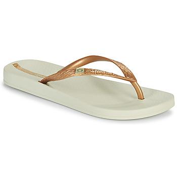Pantofi Femei  Flip-Flops Ipanema IPANEMA ANAT BRASILIDADE FEM Bej / Auriu