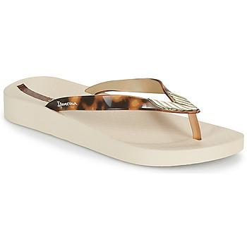 Pantofi Femei  Flip-Flops Ipanema IPANEMA ELEGANCE FEM Bej / Auriu