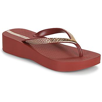 Pantofi Femei  Flip-Flops Ipanema IPANEMA MESH VI PLAT FEM Bordo