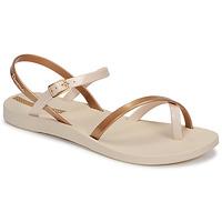 Pantofi Femei Sandale  Ipanema Ipanema Fashion Sandal VIII Fem Bej / Auriu