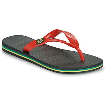 Pantofi Copii  Flip-Flops Ipanema IPANEMA CLAS BRASIL II KIDS Negru / Roșu