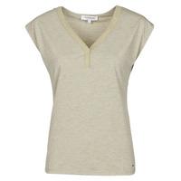 Îmbracaminte Femei Tricouri mânecă scurtă Morgan DMAYA Bej