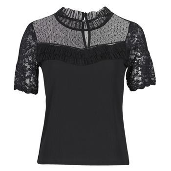 Îmbracaminte Femei Tricouri mânecă scurtă Morgan DANY Negru