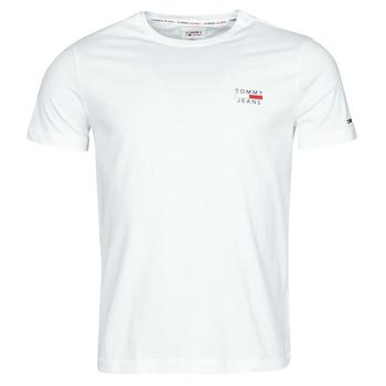 Îmbracaminte Bărbați Tricouri mânecă scurtă Tommy Jeans TJM CHEST LOGO TEE Alb