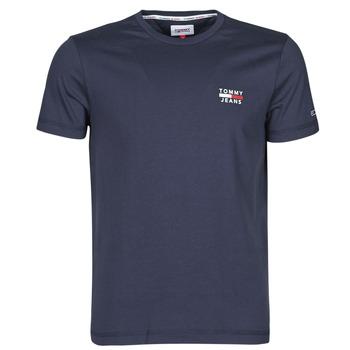 Îmbracaminte Bărbați Tricouri mânecă scurtă Tommy Jeans TJM CHEST LOGO TEE Albastru