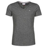 Îmbracaminte Bărbați Tricouri mânecă scurtă Tommy Jeans TJM SLIM JASPE V NECK Negru