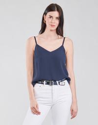 Îmbracaminte Femei Topuri și Bluze Tommy Jeans TJW CAMI TOP Albastru