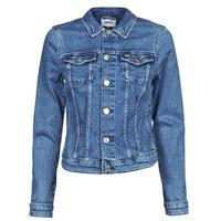 Îmbracaminte Femei Jachete Denim Tommy Jeans VIVIANNE SLIM DENIM TRUCKER NMBS Albastru / Medium
