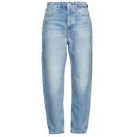 Îmbracaminte Femei Jeans boyfriend Tommy Jeans MOM JEAN ULTRA HR TPRD EMF SPLBR Albastru / LuminoasĂ