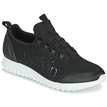 Pantofi Bărbați Pantofi sport Casual Calvin Klein Jeans RUNNER SNEAKER LACEUP MESH Negru