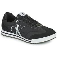 Pantofi Bărbați Pantofi sport Casual Calvin Klein Jeans LOW PROFILE SNEAKER LACEUP PES Negru