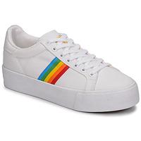 Pantofi Femei Pantofi sport Casual Gola ORCHID PLATEFORM RAINBOW Alb / Multi