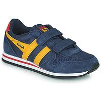 Pantofi Copii Pantofi sport Casual Gola DAYTONA VELCRO Albastru / Galben