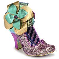 Pantofi Femei Pantofi cu toc Irregular Choice CHRYSALIS Violet