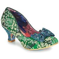 Pantofi Femei Pantofi cu toc Irregular Choice DAZZLE RAZZLE Verde / Albastru