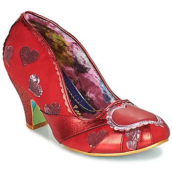 Pantofi Femei Pantofi cu toc Irregular Choice HEART ON YOUR SLEEVE Roșu