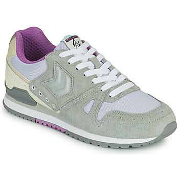 Pantofi Femei Pantofi sport Casual Hummel MARATHONA SUEDE Gri / Violet