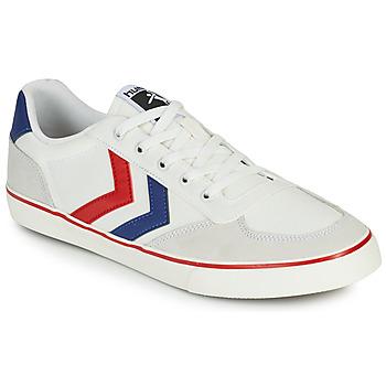 Pantofi Bărbați Pantofi sport Casual Hummel STADIL LOW OGC 3.0 Alb / Albastru / Roșu