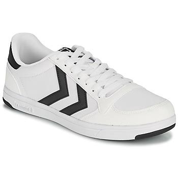 Pantofi Bărbați Pantofi sport Casual Hummel STADIL LIGHT CANVAS Alb