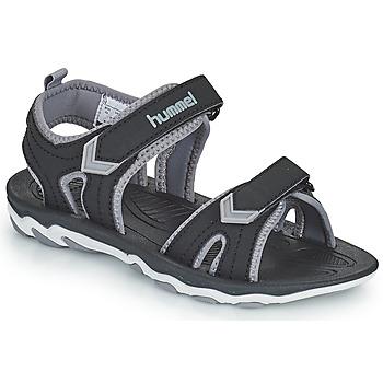 Pantofi Copii Sandale sport Hummel SANDAL SPORT JR Negru