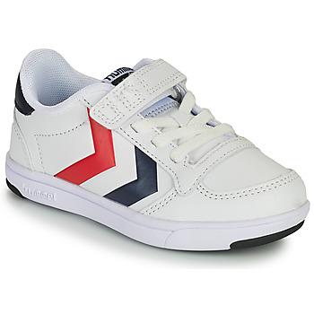 Pantofi Copii Pantofi sport Casual Hummel STADIL LIGHT QUICK JR Alb