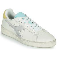 Pantofi Femei Pantofi sport Casual Diadora GAME L LOW ICONA WN Alb / Albastru