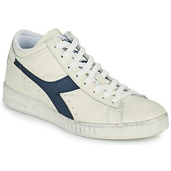 Pantofi Pantofi sport stil gheata Diadora GAME L WAXED ROW CUT Alb / Albastru